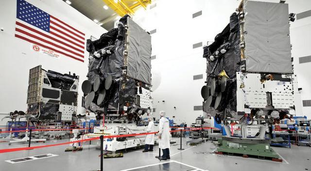 美国空军与波音公司等签订巨额卫星合同