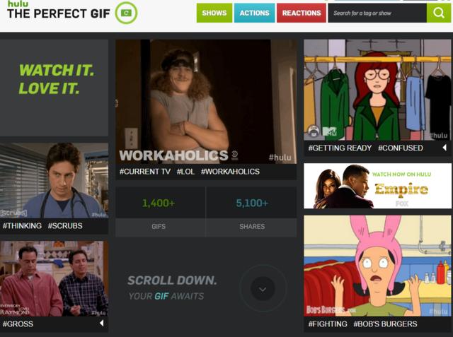Hulu推出GIF网站 为了笼络年轻人
