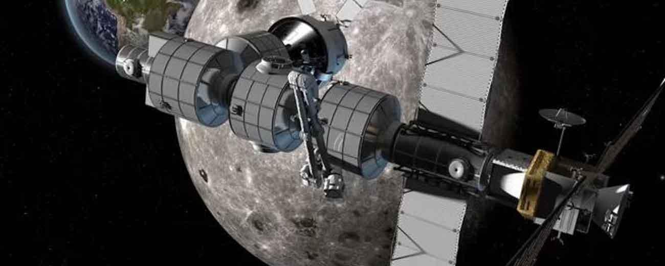美计划在月球轨道建太空港往返火星