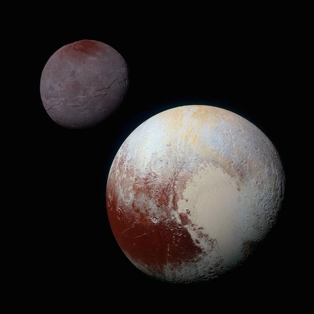 """冥王星十大发现!""""新视野""""号几乎推翻了科学家的所有猜想"""