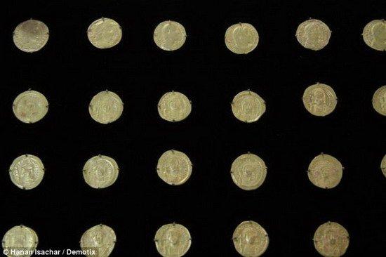 耶路撒冷圣殿发现千年宝藏