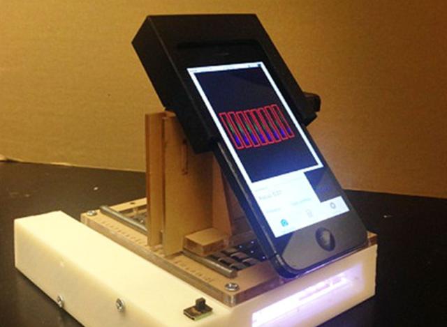 iPhone能诊断癌症?看看美国学者做的这款移动实验室