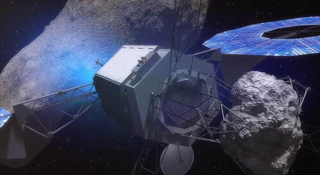 美国宇航局拟在月球轨道建立太空岩石基地