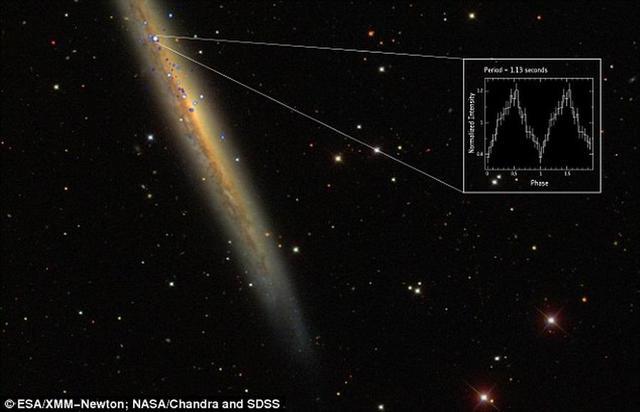 最新观测一颗神秘脉冲星亮度超预期1000倍