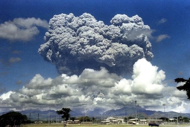 科学家解读皮纳图博火山毁灭性喷发25年后场景