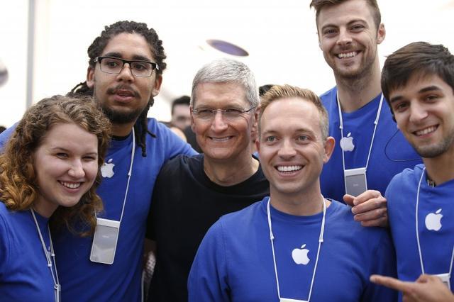 苹果实习生月薪高达7000美元 但保密要求很严