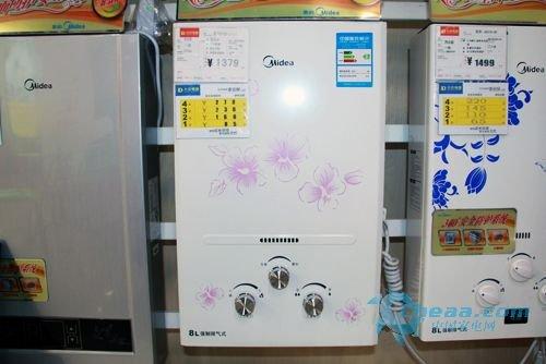 美的热水器JSQ12-6B抢先看 印花图案