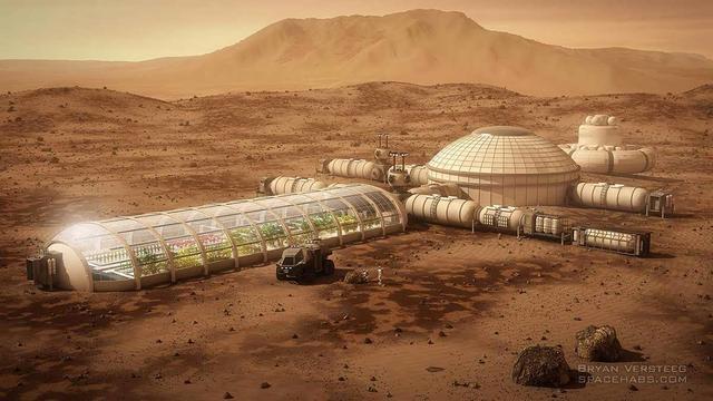 专家称二十年后人类或能登上火星