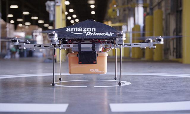 美国联邦航空管理局批准亚马逊无人机测试