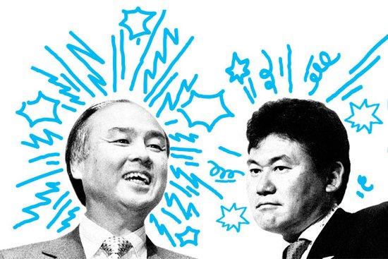 两大亿万富豪的角力 日本电商或重新洗牌