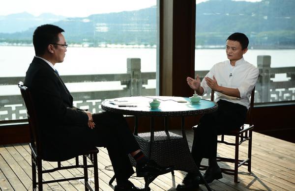 央视采访马云:让天下没有难做的生意
