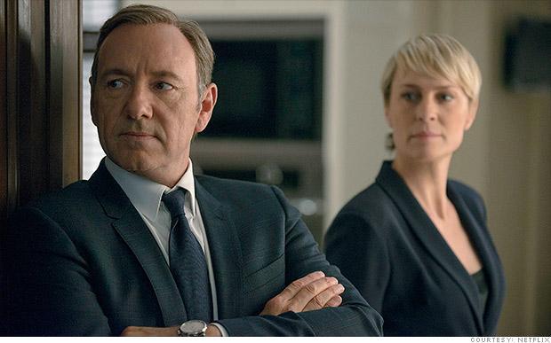 Netflix神剧《纸牌屋》第二季大热 将拍第三季