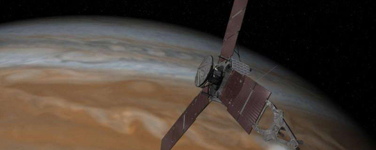 朱诺探测器将第三次飞越木星