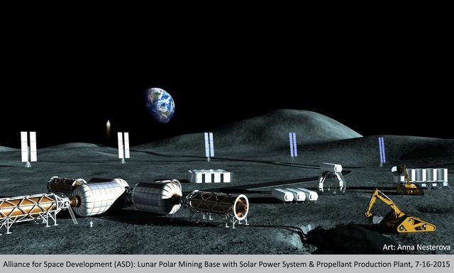 月球或藏珍贵资源 每年可为NASA节省百亿