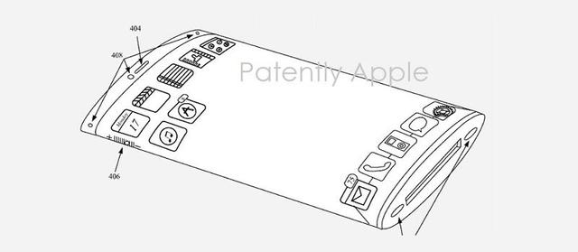 蘋果新專利曝光:iPhone7或搭載曲面屏
