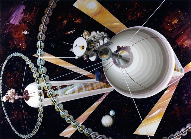 科学家:人类20年内或可进入地球轨道生活