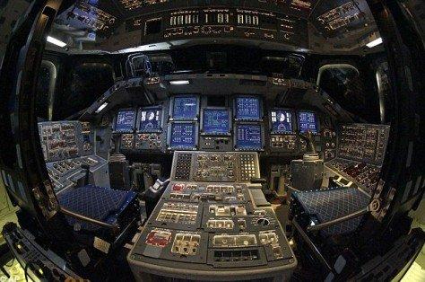 航天飞机超科幻驾驶舱犹如什么飞船?