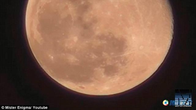 """视频图像揭示""""数百艘UFO""""从月球表面起飞"""