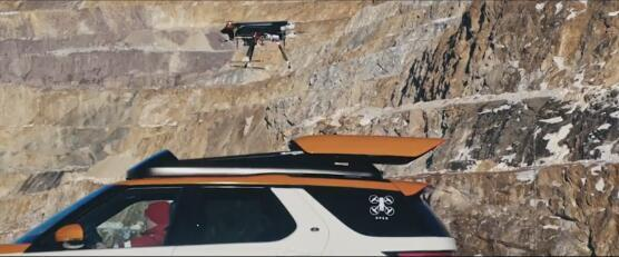 路虎研制出可供无人机起落的新车型