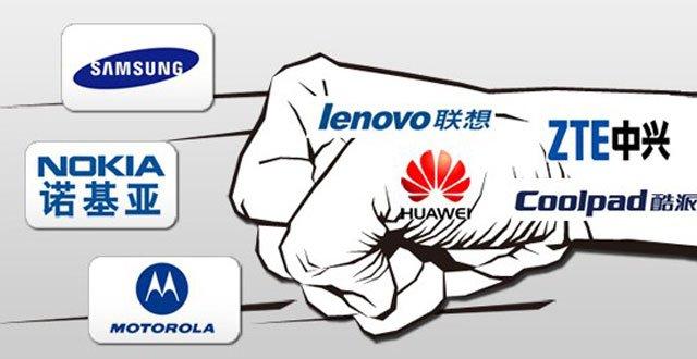 智能机中国厮杀:洋手机现颓势