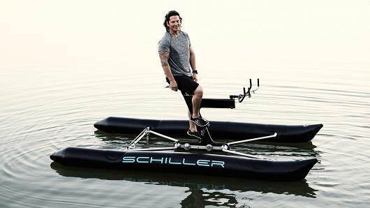 水上自行车来了!打造全新交通方式