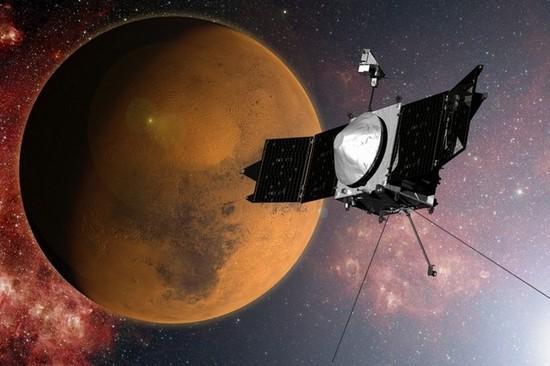 印度火星轨道探测器为避免日食调整轨道
