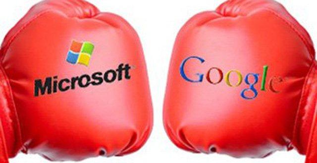谷歌微软移动市场竞争升温
