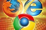 Chrome与火狐两面出击欲分食微软IE市场