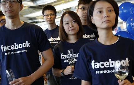 Facebook估价2380亿美元首度超过沃尔玛