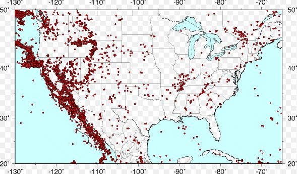 科学家揭秘美国西部地震频发机制