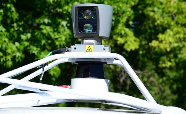 谷歌无人汽车幕后的技术 激光扫描整个城市 高清图片