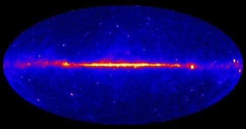 美科学家发现银河系内核区域暗物质存在证据