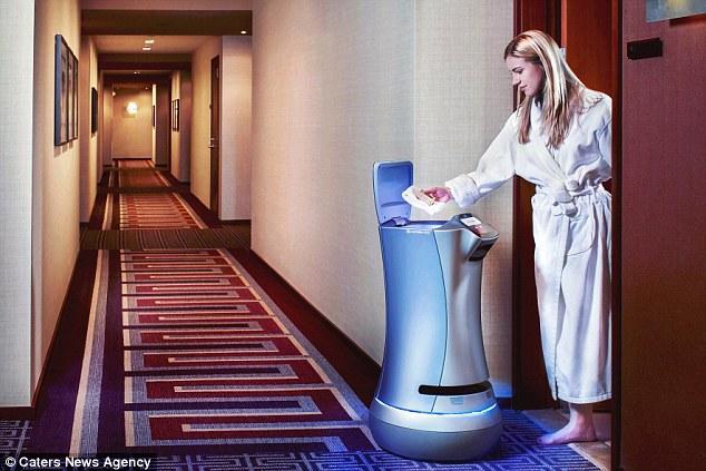 世界上第一个机器人管家亮相洛杉矶 月租2.5万美元