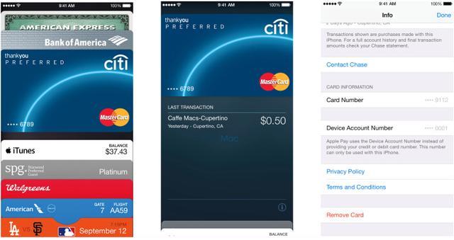 苹果移动支付Apple Pay本月18日正式启用