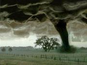 科学家称全球气候转暖促使龙卷风现象增多