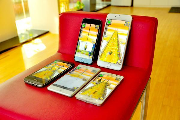 iPhone 6、6 Plus续航对比安卓旗舰