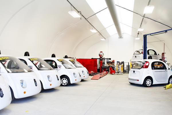 探秘谷歌自动驾驶汽车测试中心