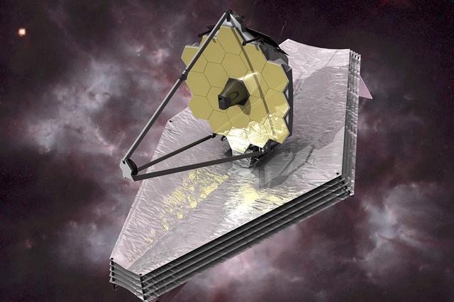 美国完成韦伯太空望远镜第一道遮阳层工作