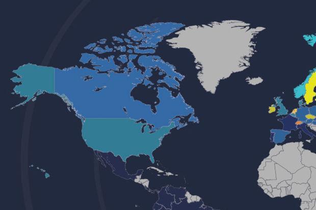 美国网速全球排名下滑至14位