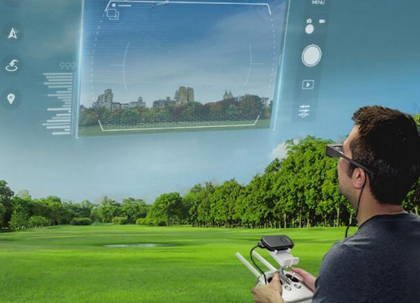 爱普生新款增强现实眼罩:让你像上帝一样驾驶无人机