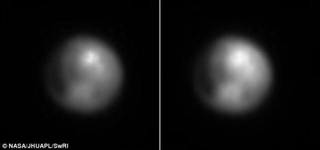 """冥王星出现神秘亮点 """"新视野号""""最新发现"""