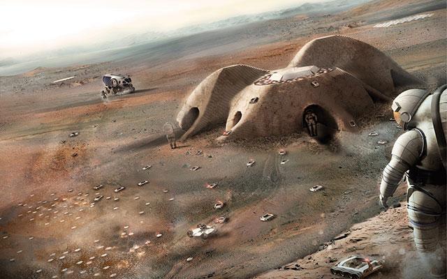 马斯克的终极目标:在火星上建立城市