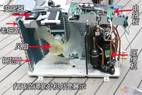 空调启动外机风扇不转_5p空调外机外机风扇转不制冷_空调外机不启动,风扇也不转,保护