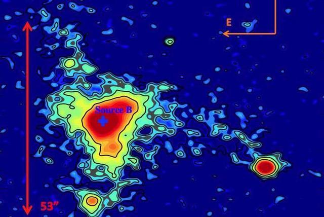 """天文学家发现神秘发光星云没有明显""""动力源"""""""