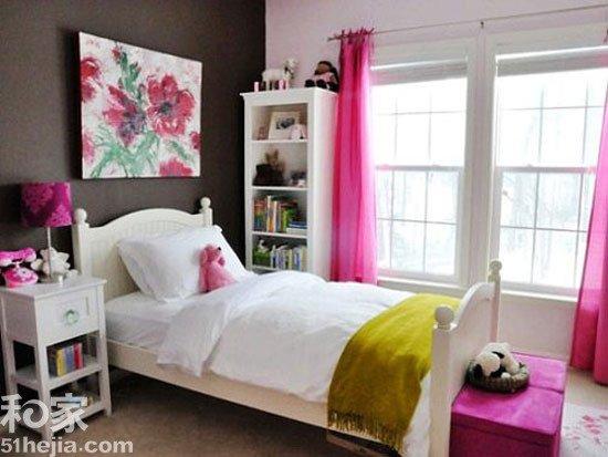 墙面要颜色 11个精彩卧室样板间棕色的墙面自然质朴,可以给高清图片