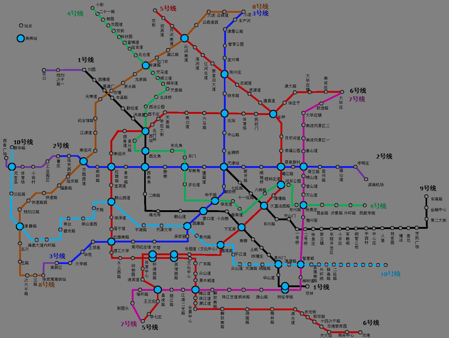 天津地铁4号线年内开工图片