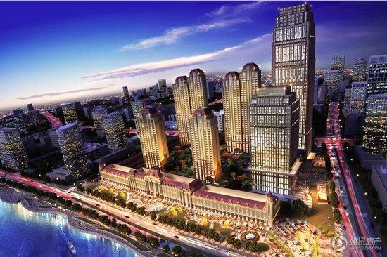 划4栋豪宅,总建筑面积超10万平米,建成后将成为海河区域大型豪宅