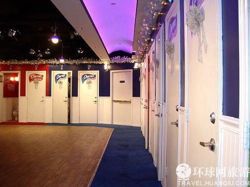 """厕所里的""""天上人间"""" 纽约超豪华免费厕所"""