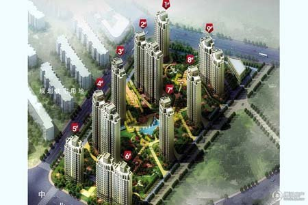 别墅十二城大王六期项目在售均价8400元/平米滩高层风景区大地图片