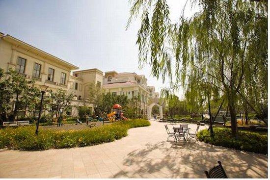 天津碧桂园珍藏在古典地中海双拼中的经典美别墅简介图文园林图片